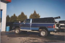 Mk2 on 1992 Dodge long box