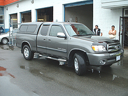 Cab-hi canopy on 2004 Toyota Tundra 4 door & Import Canopies | The Canopy Store